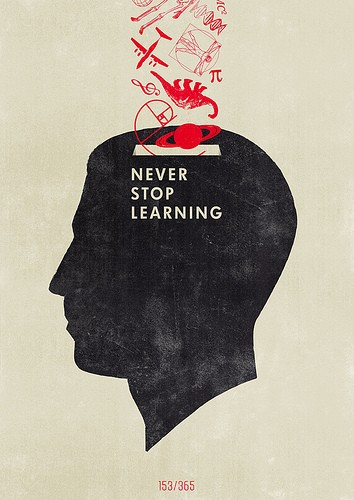 never stop learning, hannesbeer