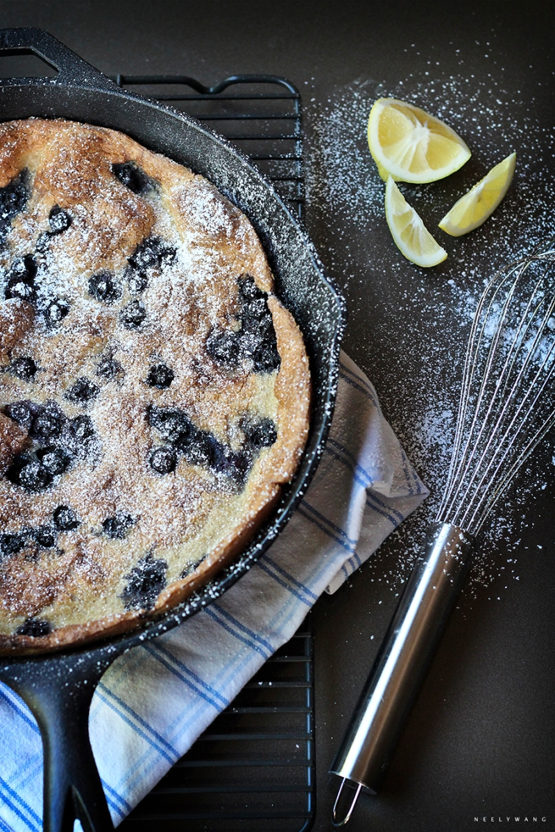 recipe for blueberry dutch baby
