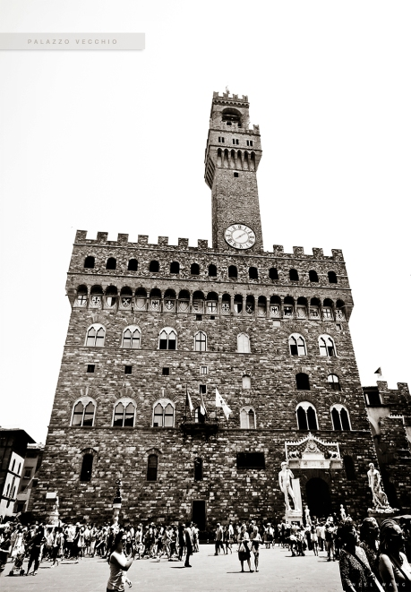 Palazzo Vecchio in Florence Italy