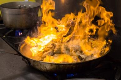 Fire Saute