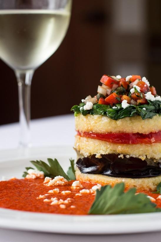 Tomato, Zucchini and Polenta