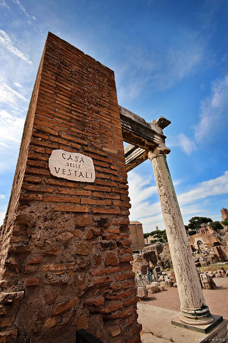 Casa delli Vestali, Rome, Italy