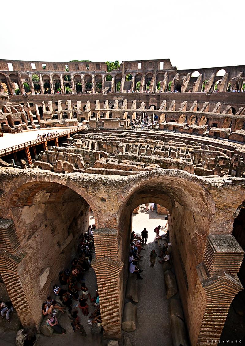 Under the Colosseum Floor