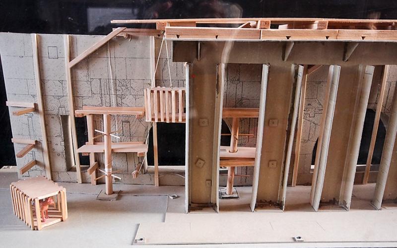 Model of Colosseum Underground