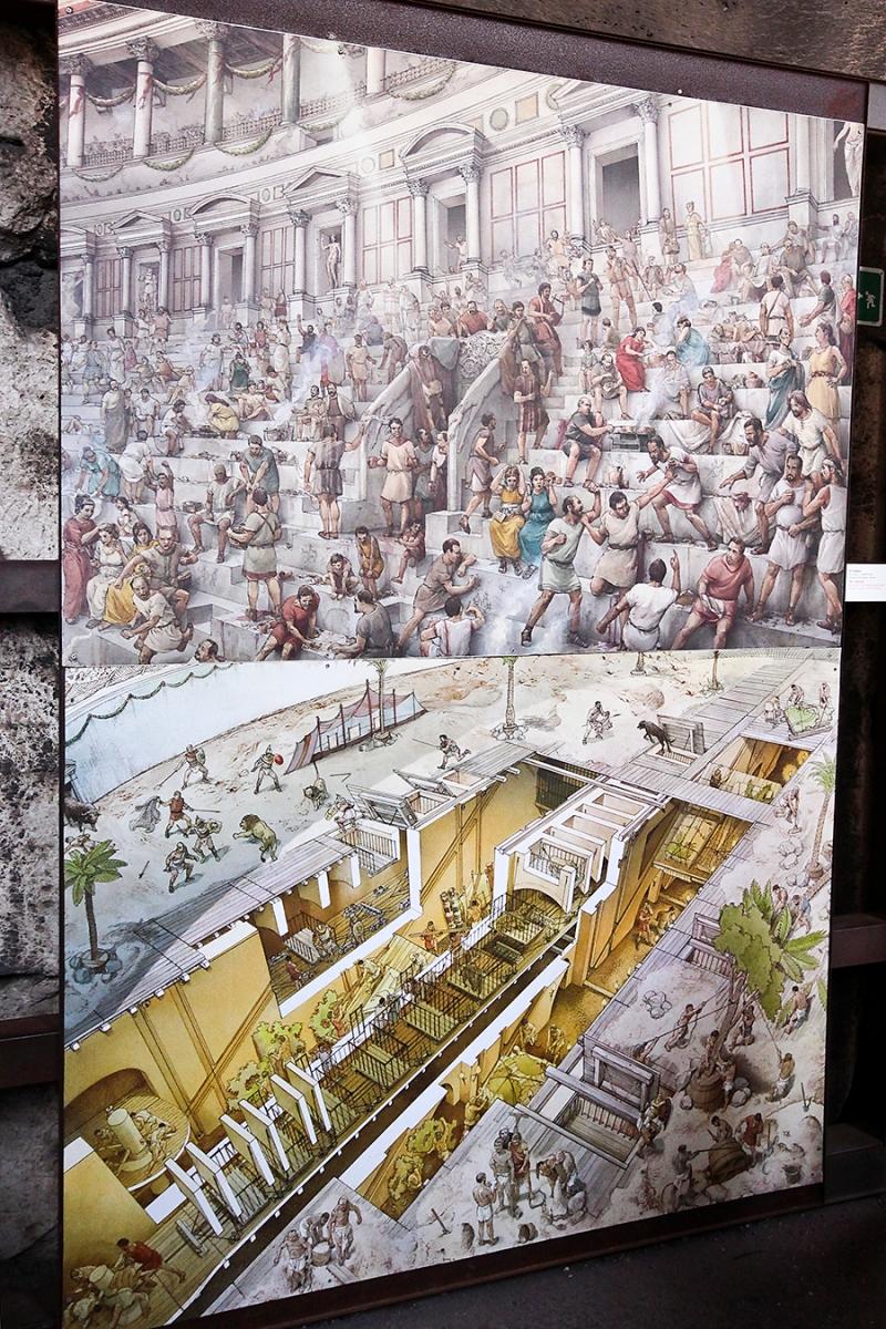 Visuals at Colosseum
