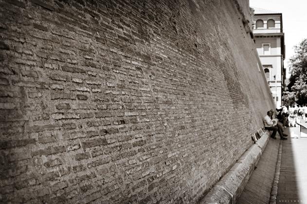 Wall Surrounding Vatican City
