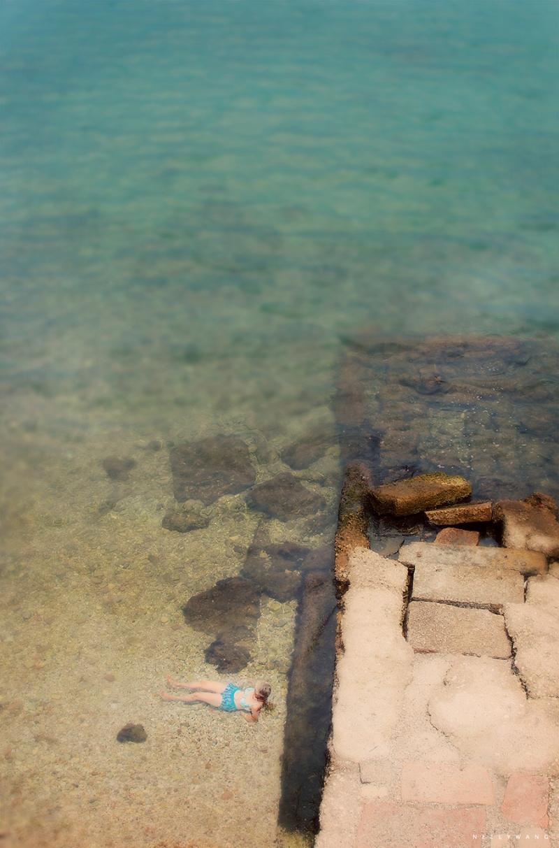 Beach in Corfu, Greece