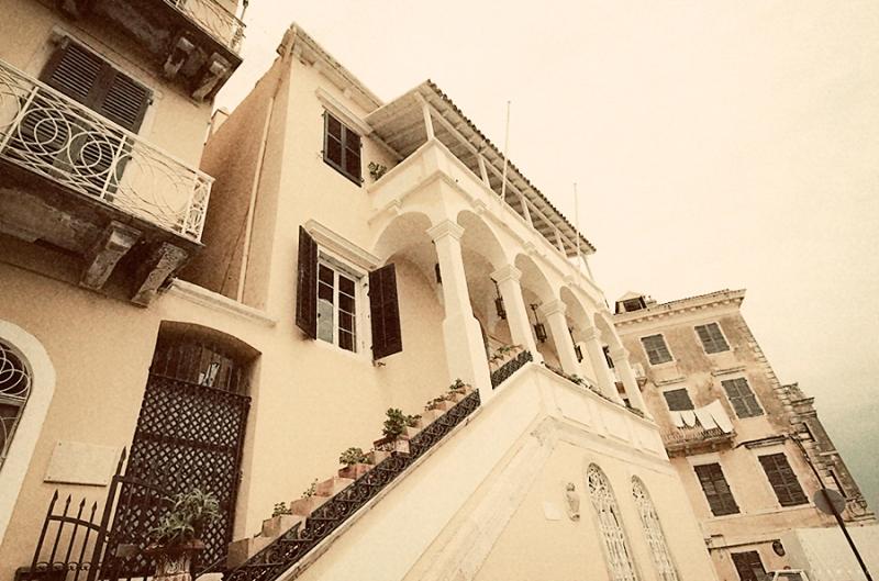 House in Corfu, Greece