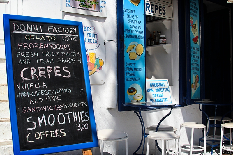 Crepes in Mykonos