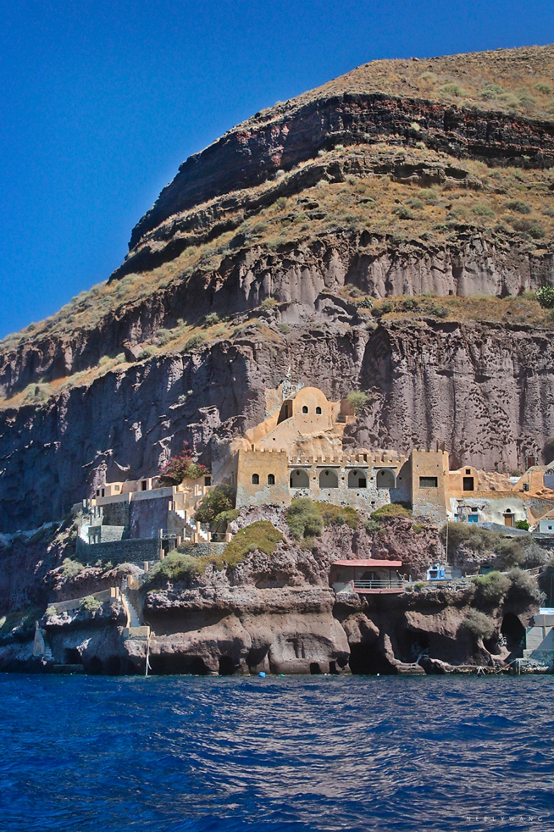 Cliff of Santorini