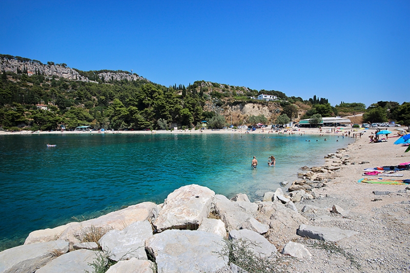 Beach at Split, Corfu