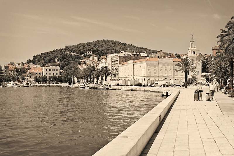 Boardwalk at Split, Croatia