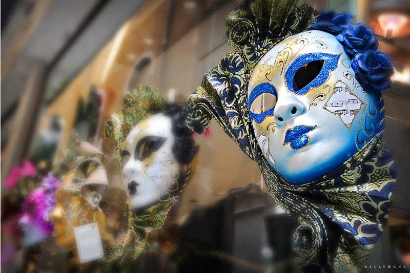 Masks in Vencie