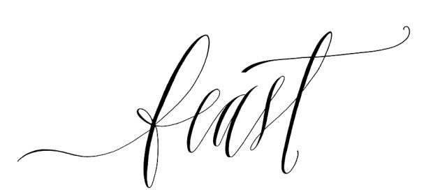 Meet The Artist Feast Fine Art Calligraphy Neely