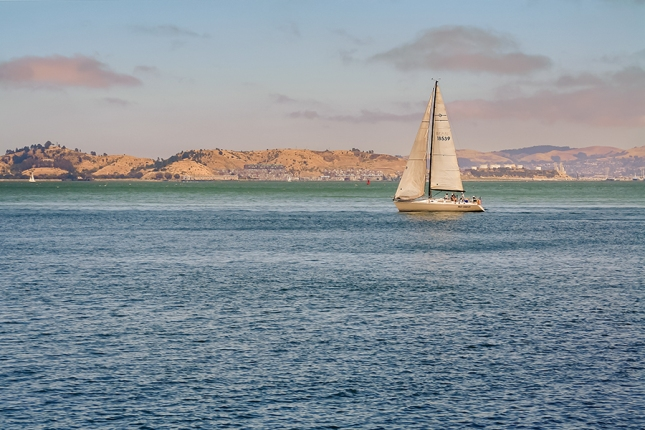 San Francisco Bay Boat
