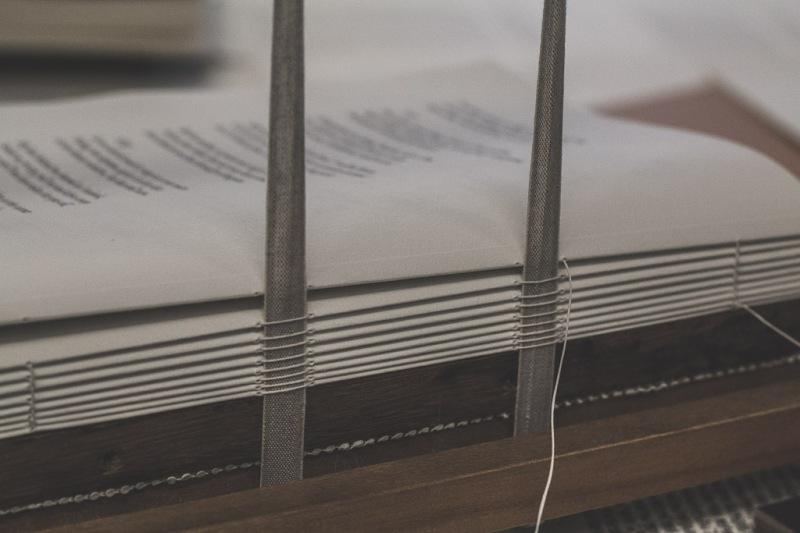 Book Binding Seam