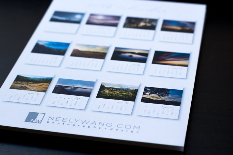 Neely Wang Photography Calendar