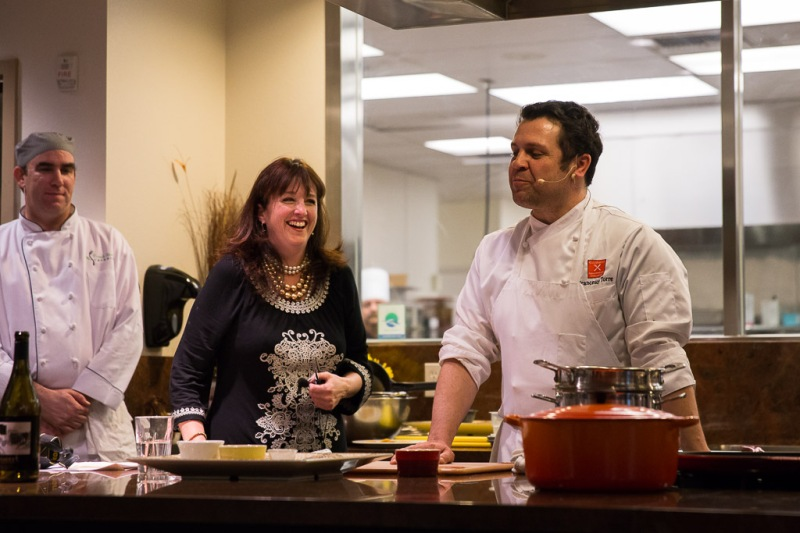 Ziggy the Wine Gal and Chef Francesco Torre | Neely Wang Photography