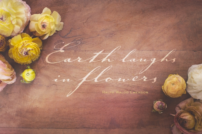 Earth Laughs in Flowers | Ralph Waldo Emerson