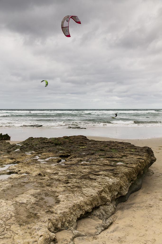 Kite Surfing Solana Beach, San Diego